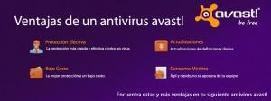 ventajas del antivirus avast!