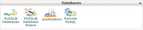 cpanel-databases