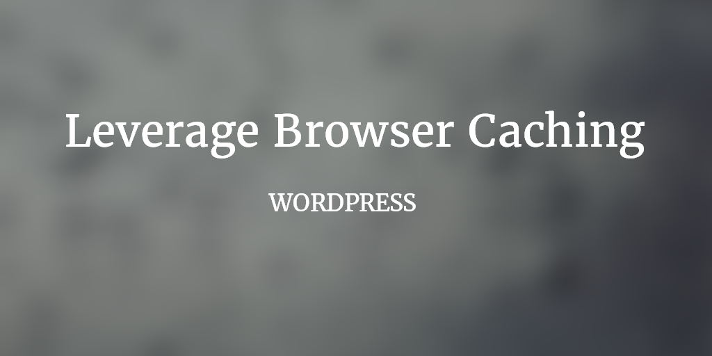 Cómo implementar el browser caching en WordPress